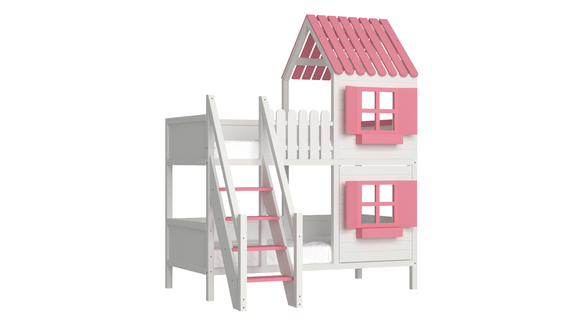Łóżko piętrowe domek ANNDY SF, (1) - Łóżka piętrowe