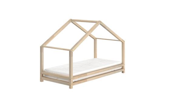 Łóżko pojedyncze dla dzieci w kształcie domku Sally, (1) - Łóżka piętrowe