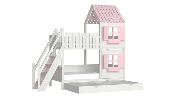 Łóżko piętrowe domek ANNDY SB, (1) - Łóżka piętrowe
