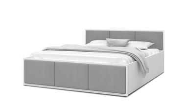 Tapicerowane łóżko kontynentalne Milano
