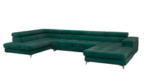 Duży narożnik rozkładany Eduardo, (1) - Krzesła